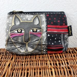 Laurel Burch Kitty Cat Cosmetic Small Clutch